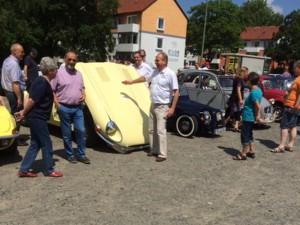 ADAC Oldtimer-Rally in Helmstedt