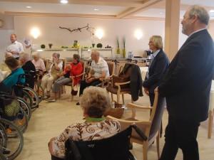Besuch DRK Pflegeheim