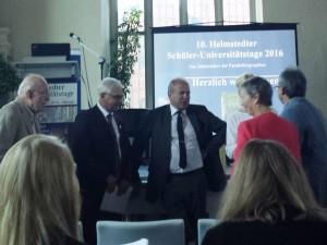 Helmstedter Schüler-Universitätstage 2016